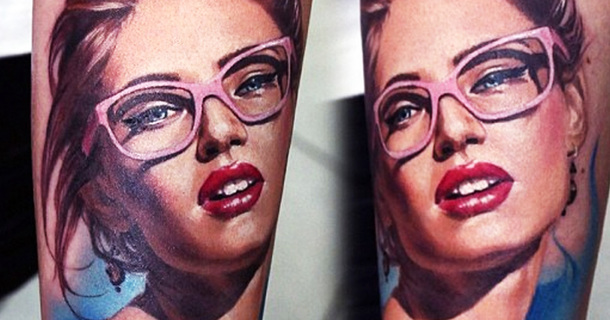 Tattoo Artist Uses Human Body As A Canvas For Her Hyper-Realistic Paintings